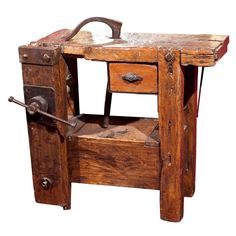 Impressive Build Your Own Garage Workbench Ideas. Irresistible Build Your Own Garage Workbench Ideas. Antique Tools, Old Tools, Vintage Tools, Woodworking Bench Plans, Woodworking Shop, Woodworking Projects, Carpentry Tools, Woodworking Techniques, Woodworking Furniture