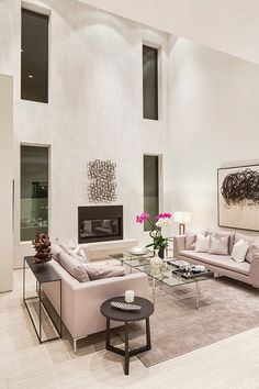 Two-story contemporary pad in LA: Oakwood Residence designed by Boswell Construction