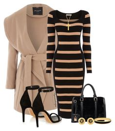 A fashion look from December 2015 by arjanadesign featuring Oasis, Jane Norman, Isabel Marant, Chanel, Halcyon Days and Kevin Jewelers Classy Dress, Classy Outfits, Stylish Outfits, Beautiful Outfits, Mode Outfits, Fall Outfits, Work Fashion, Fashion Looks, Oasis Dress