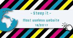 🍵 ⏳ Steep it - Most Useless Website of the week 16 in 2017