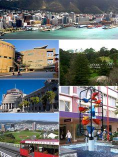 Wellington, Capital of New Zealand