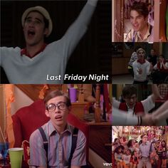 I just realised that blaine freaking anderson, who performes last friday night in glee also is in the original version 0: ....as cute as ever... somehow dude artie rolls by as well!