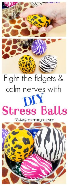 Follow these step-by-step instructions to learn how to make a stress ball for your fidgety and/or anxious kids and teens.   @homeschljourney via @letsembark