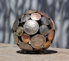 The Art Of Up-Cycling: Coin Sculptures