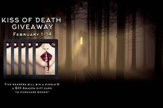 Kiss of Death #Amazon #Kindle #Giveaway