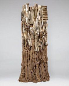 Barbara Chase-Riboud, Malcolm X Polished bronze, silk and cotton; x 39 x 29 inches. Textile Fiber Art, Textile Artists, Fibre Art, Soft Sculpture, Sculptures, Art Through The Ages, Philadelphia Museum Of Art, Textiles, Art Sketchbook