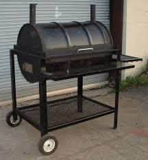 44 gallon drum as bbq/oven