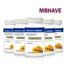 5 Bottles Turmeric 40* 400mg Capsules Contains Beneficial Antioxidants //Price: $33.99 & FREE Shipping //     #discount