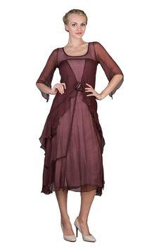 Great Gatsby Vintage Style Wedding Dress by Nataya | Second Wedding Dresses | Mother of the Bride Dresses - wardrobeshop.com
