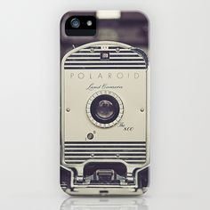 Vintage Polaroid Land Camera The 800 iPhone Case