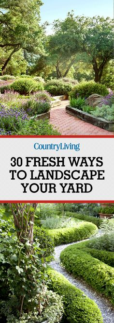 Don't forget to save these landscaping tips! Follow @countryliving on Pinterest for more ways to turn your yard into a masterpiece.