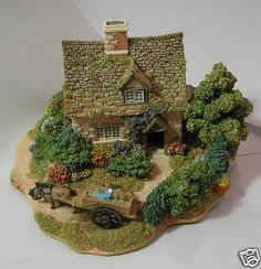"""LILLIPUT LANE """"CRUCK END """" Clay Houses, Ceramic Houses, Miniature Houses, Cocktail Party Themes, Fairytale House, Fairy Garden Houses, Fairy Garden Accessories, Tiny Treasures, Polymer Clay Projects"""