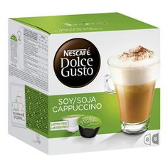 Nieuw! Dolce Gusto Soja Cappuccino   New Dolce Gusto Soy Cappuccino