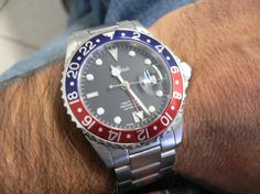 GROVANA GMT Pepsi