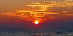 Photograph Flames and Fowl - Sunrise on the Jersey Shore by Kevin Reynolds on 500px