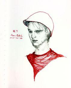 007 #sketch #portrait