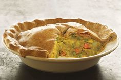Indian Samosa Casserole . Everything you love about Indian samosas is here in one low-fat, easy-to-make pie.