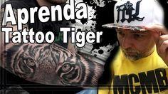 Aprenda fazer Tattoo Tigre & Inscrito IN GERMANY - Quadro BATMAN