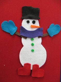 Flannel Friday: Hey, Mr. Snowman