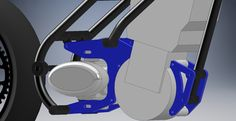 Another version of engine brackets.