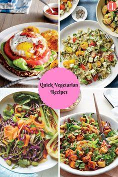 The Dont Turn On Your Oven Guide Easy Vegetarian Dinner RecipesVegetarian