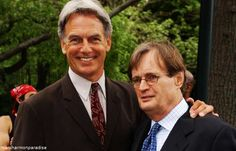 Mark Harmon and David McCallum