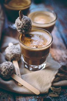 coffee and bliss balls