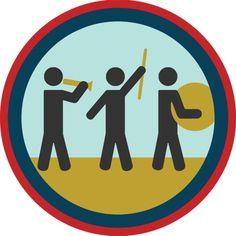 Marching Band Badge