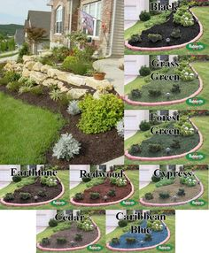 21 Best Colored Mulch Images Mulch Landscaping Brown Mulch