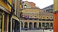 Antiguo Ayuntamiento en la Plaza de las Palomas, León.