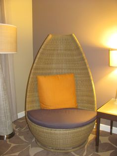 Comfy Hotel Chair