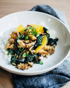 A reimagined version of classic Chinese-American orange chicken — now a more wholesome quick weeknight stir-fry.