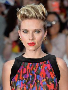 5 New Ways to Style a Pixie Cut like Scarlett Johannson via Brit + Co.