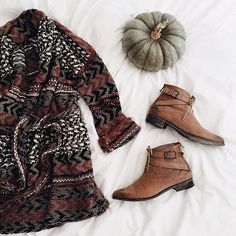 The perfect fall outfit via Free People