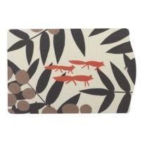 red fox chopping board