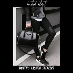 Women's Casual, Casual Sneakers, Bags, Fashion, Casual Trainers, Handbags, Moda, Fashion Styles, Fashion Illustrations
