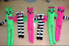 A DIY Sock Creature (Level: Super Easy) an Adventures of a Fat Bottomed Girl blog by Brandy Pyle