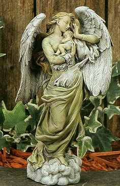 Guardian Angel with Child..take care of the new angels from CT.