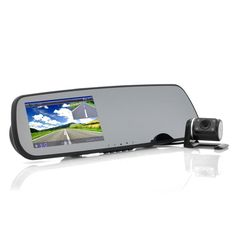4.3 Inch Car Rear View Mirror + Parking Camera (WDR, Night Vision, Motion Detection)