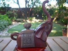"""wonderful teapot by Mr. Ming Rong """"Emperor's Elephant"""""""