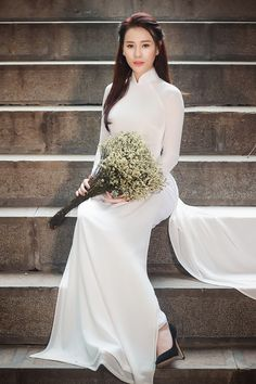 Vietnamese long dress (Ao dai) | NguyenKp