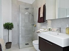 bathroom shower modern loft design