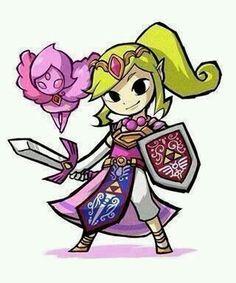 Prinzessin Zelda als Kriegerin mit Phai #MavisChan