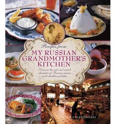 Helps you discover the rich and varied character of Russian cuisine in 60 traditional dishes. This book features a wide variety of soups, tempting appetizers, mouthwatering fish, meat and vegetable dishes, and rich desserts, cakes and pastries. It is illustrated by more than 300 photographs. #booksrussia