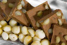 Low Carb Chocolate Macadamia Fudge