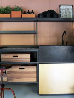 Salinas Kitchen for Boffi by Patricia Urquiola   clean lines