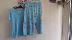 New   M&CO Love To Sleep   Blue    Cotton   Floral  Pyjamas   Size   10-12   #MCO #PyjamaSets #Everyday