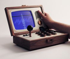R-Kaid-R Portable Arcade -- yeah, someday when €2,499.00 is an affordable number for a frivolous purchase.