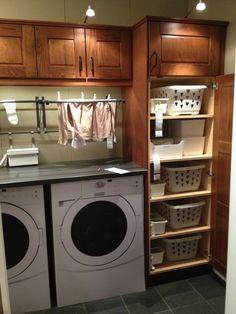 Laundry room   Ikea display