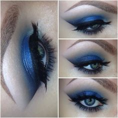 DixieWolff: How to: Urban Decay Vice 2 Smokey Blue